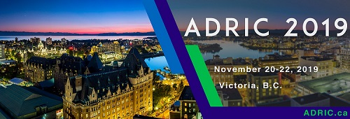 ADRIC 2019 National Conference Victoria BC
